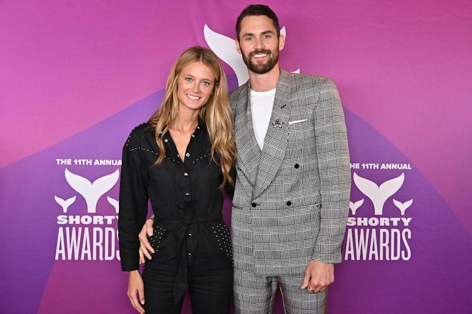 "<p>Not much is known about the relationship origins of Canadian model Kate Bock and Cleveland Cavs forward Kevin Love. They have reportedly <a href=""https://thespun.com/news/kevin-love-girlfriend-photos"" rel=""nofollow noopener"" target=""_blank"" data-ylk=""slk:been dating since 2017"" class=""link rapid-noclick-resp"">been dating since 2017</a>, and they make frequent appearances on <a href=""https://www.instagram.com/kevinlove/"" rel=""nofollow noopener"" target=""_blank"" data-ylk=""slk:each other's IGs"" class=""link rapid-noclick-resp"">each other's IGs</a>. Maybe they're just one of the most normal couples ever???</p>"