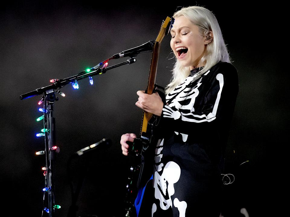 Phoebe Bridgers talks Grammy nominations (Getty Images for Visible)