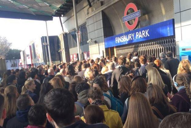 Commuters face severe delays on four London Underground lines on Thursday evening: @danibambi