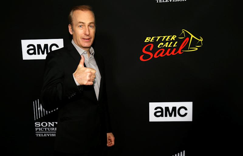 """Cast member Bob Odenkirk poses at the premiere for season 3 of the television series """"Better Call Saul"""" in Culver City, California U.S., March 28, 2017. REUTERS/Mario Anzuoni"""