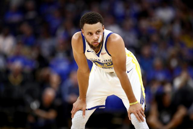 The wait for Steph could end soon. (Photo by Ezra Shaw/Getty Images)