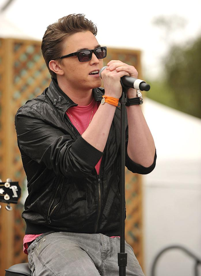 "Singer Jesse McCartney belted out a few tunes for the kids at the Disney-sponsored soiree. John Shearer/<a href=""http://www.gettyimages.com/"" target=""new"">GettyImages.com</a> - June 13, 2010"