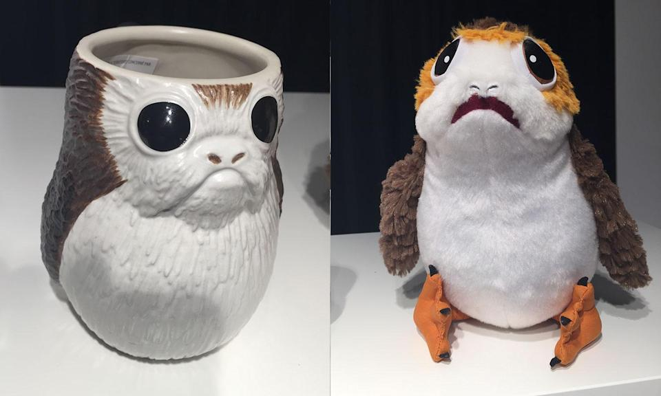 <p>The Porgs play a huge part in the merchandising for The Last Jedi (Yahoo Movies UK/Disney) </p>