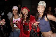 """<p>You might recognize the members of Blaque from their role as cheerleaders in <em>Bring It On—</em>an iconic set of roles. The band, which lasted from 1999 to 2004, had a few hits like """"Bring It All to Me"""" and """"808."""" Sadly, one of their members, Natina Reed (center) passed away tragically in a car accident in 2012, and the band broke up permanently.  </p>"""