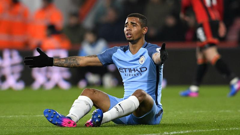 Manchester City forward Jesus recovering after foot surgery