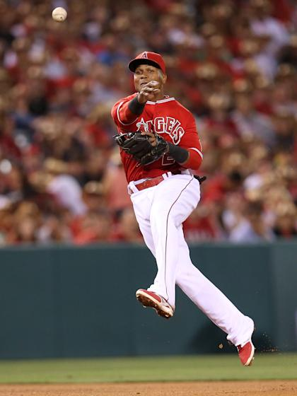 Erick Aybar might not be an All-Star but he's playing like one at shortstop. (Getty Images)
