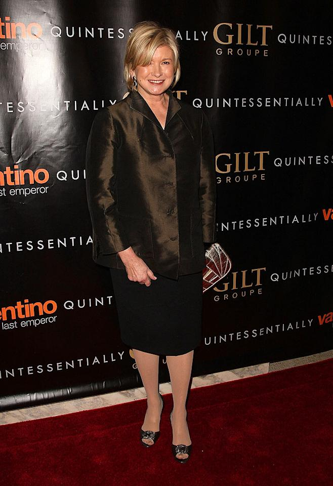"""Domestic diva Martha Stewart looked surprisingly sophisticated. Too bad her jacket wasn't a bit more tailored. Steven Lovekin/<a href=""""http://www.gettyimages.com/"""" target=""""new"""">GettyImages.com</a> - March 17, 2009"""