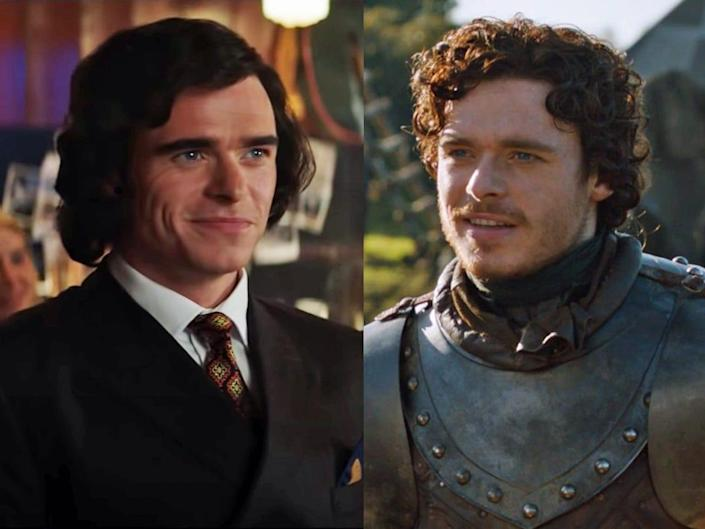 Richard Madden Rocketman Paramount and Game of Thrones HBO