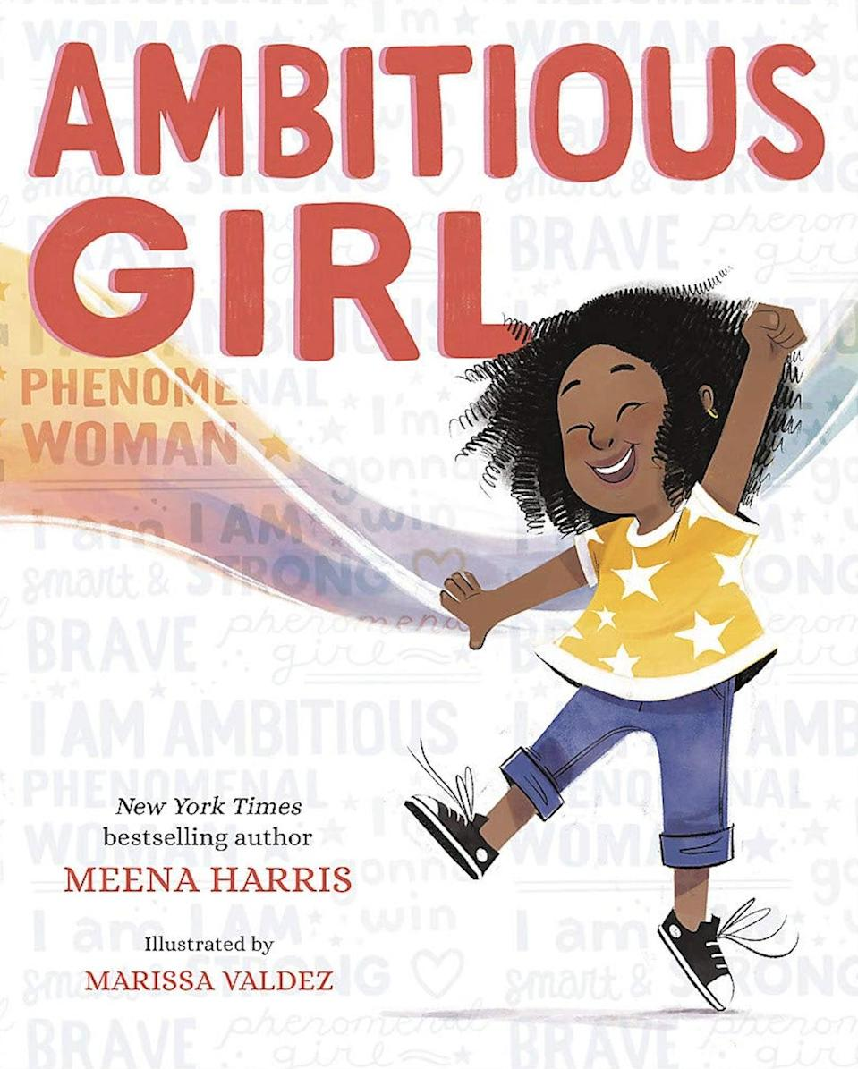 <p>Teach kids that there is nothing wrong with being too loud, too confident, too persistent, too assertive, and too ambitious with <span><strong>Ambitious Girl</strong></span> ($14). This empowering tale will inspire kids to be themselves and achieve their goals!</p>