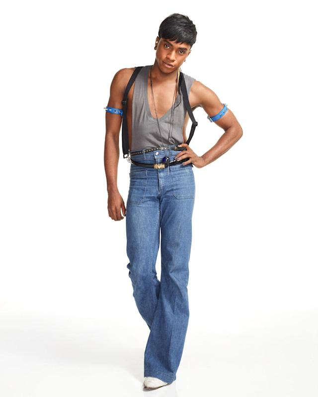 """Dexter Simmons in """"Styled to Rock"""" Season 1."""