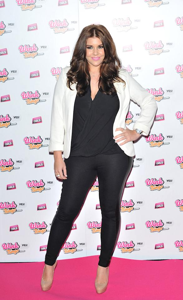 Imogen Thomas admitted she's sleep deprived following the birth of Ariana. Copyright [WENN]