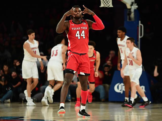 Texas Tech's upset means college basketball will likely see a change at the top of the polls for a fifth time in seven weeks. (Emilee Chinn/Getty Images)