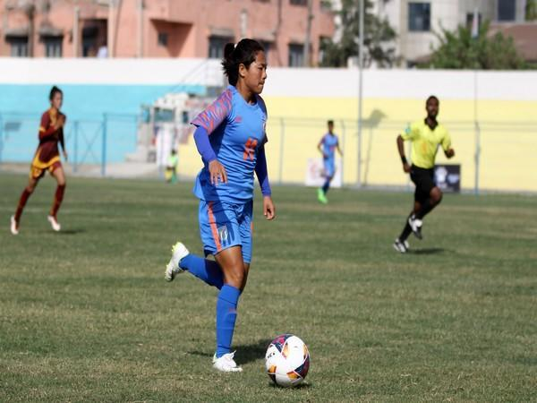 Indian women's football team defender Dangmei Grace