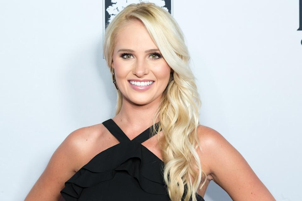 """LOS ANGELES, CALIFORNIA - JULY 31:  Conservative Political commentator Tomi Lahren attends the """"Death Of A Nation"""" Premiere at Regal Cinemas L.A. Live on July 31, 2018 in Los Angeles, California.  (Photo by Greg Doherty/Getty Images)"""