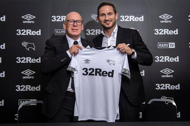 Frank Lampard confident of Derby County success in first role as manager