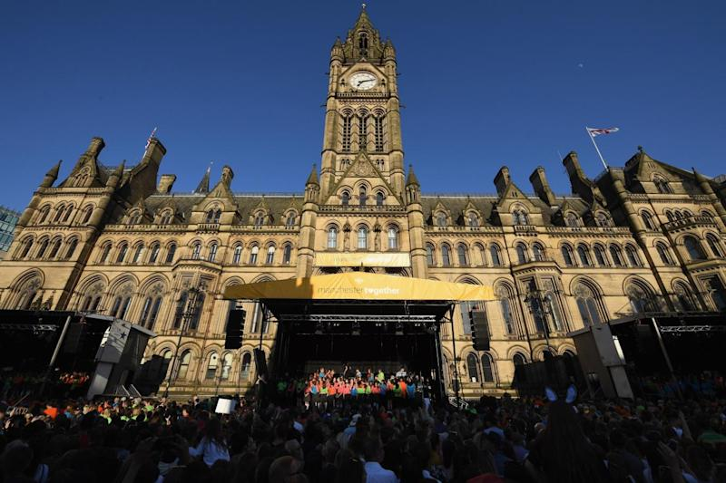 Twenty-two people were killed and hundreds injured when Salman Abedi detonated a bomb at the end of an Ariana Grande concert at Manchester Arena (Getty Images)
