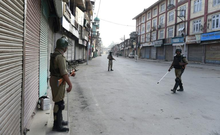 Kashmir shuts down on Burhan Wani death anniversary