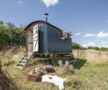 <p>HISTORIC:<br>Jo's Shepherds Hut – owned by Greg Whale in Dorset (Picture: Shed of the Year) </p>