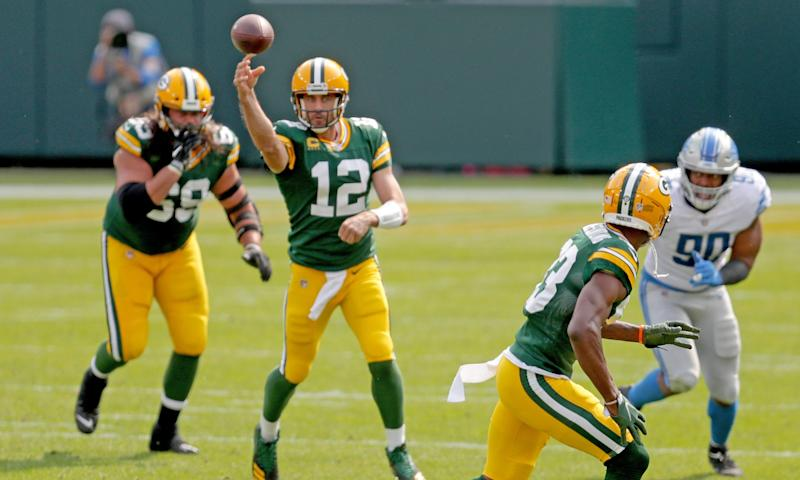 Packers QB Aaron Rodgers explains why the football is coming out quicker in 2020