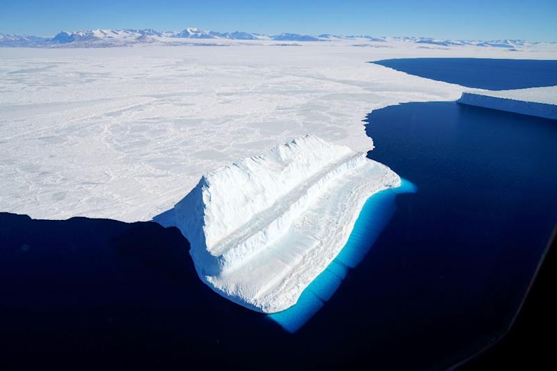 Global warming is melting ice in Antarctica faster than ever before, a new study says (AFP Photo/Chris LARSEN)