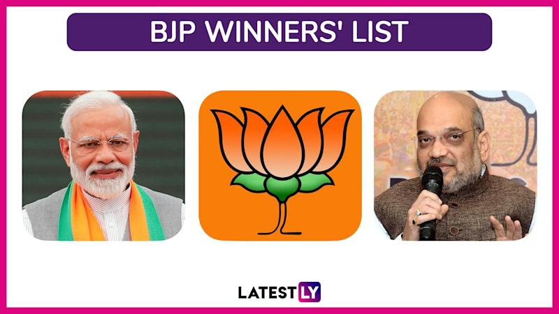 Lok Sabha Elections 2019 BJP Winners List: Constituency-Wise Names of Winning Candidates And MPs of Bharatiya Janata Party