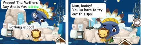 pet society mother's day spa