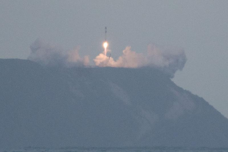 New Zealand launches first rocket from private site