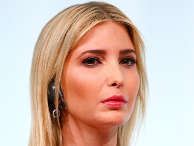 Ivanka Trump attends the W20 Summit under the motto