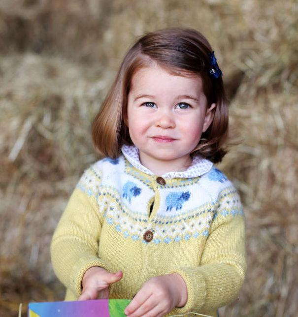 <p>To celebrate Princess Charlotte's second birthday, the Royal Family released a photograph of the toddler dressed in what became the cardigan of the year. Unfortunately, the sheep-embroidered knit sold out instantly on John Lewis' website. However, her sweet peter pan collared top is still on sale. <em>[Photo: Getty]</em> </p>