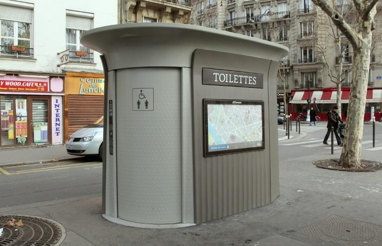 There are 435 self-cleaning toilets across Paris, but finding one in a time of need can still be challenging