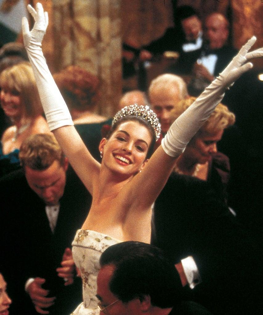 The Princess Diaries (2001) Directed by Garry Marshall Shown: Anne Hathaway (as Mia Thermopolis/Princess Mia)