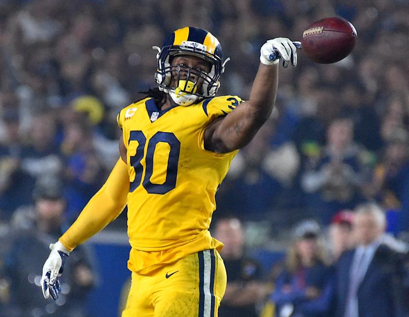 low priced f6c34 da2e0 Todd Gurley ruled out against the Arizona Cardinals