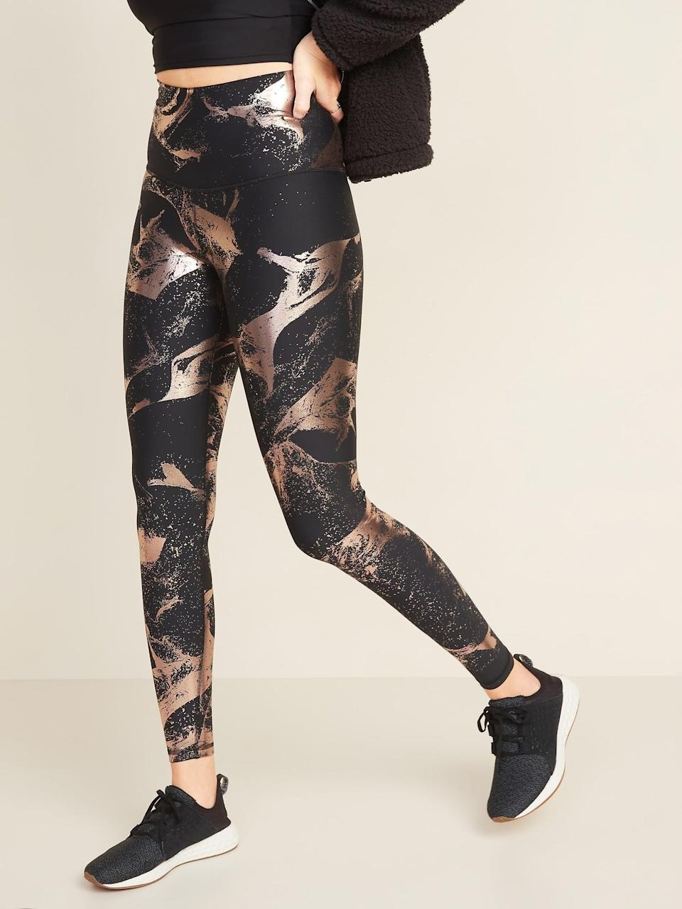 <p><span>Extra High-Waisted Powersoft Light Compression Hidden-Pocket Leggings</span> ($32)</p>