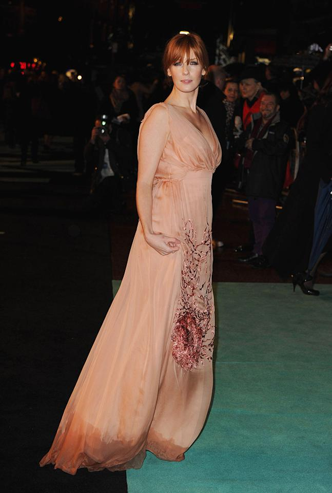 """<a href=""""http://movies.yahoo.com/movie/contributor/1800252123"""">Kelly Reilly</a> at the London premiere of <a href=""""http://movies.yahoo.com/movie/1810045845/info"""">Sherlock Holmes</a> - 12/14/2009"""