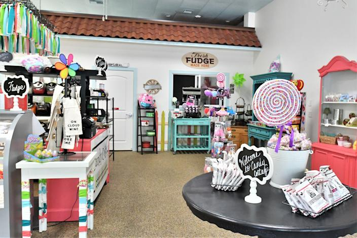 """Visalia's Candy Cottage reopened on Thursday with modifications to keep customers safe. The Tulare County Public Health department agrees chocolate is """"essential."""""""