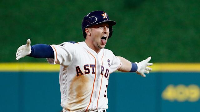 Astros star Alex Bregman says there's no team he'd rather beat than Boston. (AP)