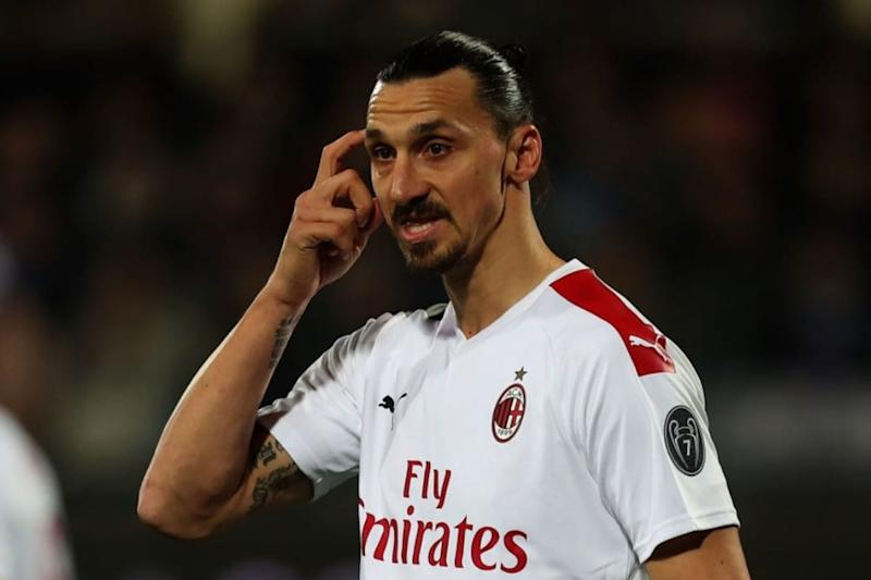 AC Milan Forward Zlatan Ibrahimovic Tests Positive for COVID-19