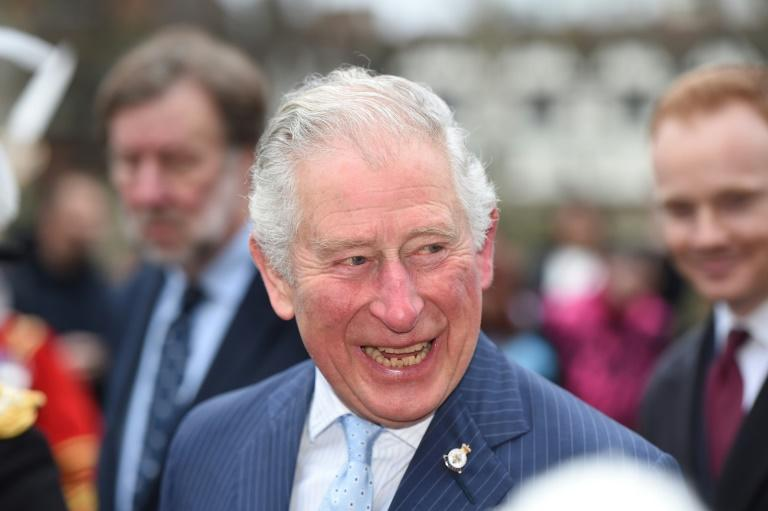 Britain's Prince Charles, Prince of Wales, seen here in February, is no longer in quarantine