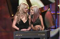 """<p>In 2008, Christina put the rumors of a feud to rest.""""It must have seemed as if we were competing with each other, but, in reality, Britney is someone that I used to hold hands with,"""" <a href=""""https://www.dailymail.co.uk/tvshowbiz/article-1083708/Britney-I-wish-best--honest-Christina-Aguilera-calls-time-pops-bitterest-feuds.html"""" rel=""""nofollow noopener"""" target=""""_blank"""" data-ylk=""""slk:she said"""" class=""""link rapid-noclick-resp"""">she said</a>. """"We were silly little girls together on 'The Mickey Mouse Club.' What a journey it has been for both of us!"""" Today, it seems as if the stars are in good terms, with Christina even posting a photo of her and Britney on Instagram in 2018. </p><p><strong>RELATED: </strong><a href=""""https://www.goodhousekeeping.com/life/entertainment/g2932/mickey-mouse-club-cast-members-then-and-now/"""" rel=""""nofollow noopener"""" target=""""_blank"""" data-ylk=""""slk:The Mickey Mouse Club: Where Are They Now?"""" class=""""link rapid-noclick-resp"""">The Mickey Mouse Club: Where Are They Now?</a></p>"""