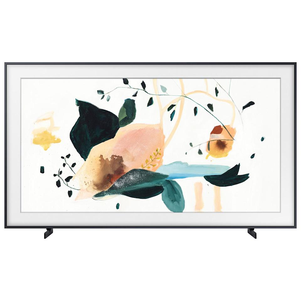 "Samsung The Frame 55"" 4K UHD HDR QLED Tizen Smart TV (QN55LS03TAFXZC) - Charcoal Black"