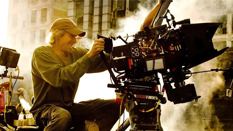 A typical day at the office for director Michael Bay (credit: Paramount/Hasbro)