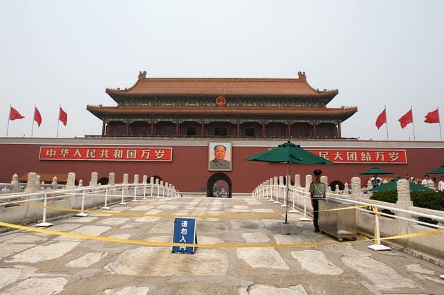 China has a territorial claim to Taiwan (Andrew Milligan/PA)