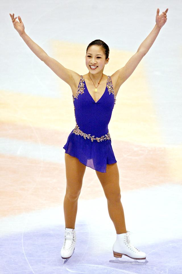 """<p>American skater Michelle Kwan never took home a gold medal from the Olympics, but her legacy cannot be compared. For almost a straight decade, she made the podium of the World Championships (including Olympic years), and she was the first skater since Dick Button to win the prestigious <a rel=""""nofollow"""" href=""""http://www.nytimes.com/2002/04/10/sports/figure-skating-kwan-wins-sullivan-and-is-vague-on-2006.html"""">James E. Sullivan Award for American</a> athletes. </p>"""