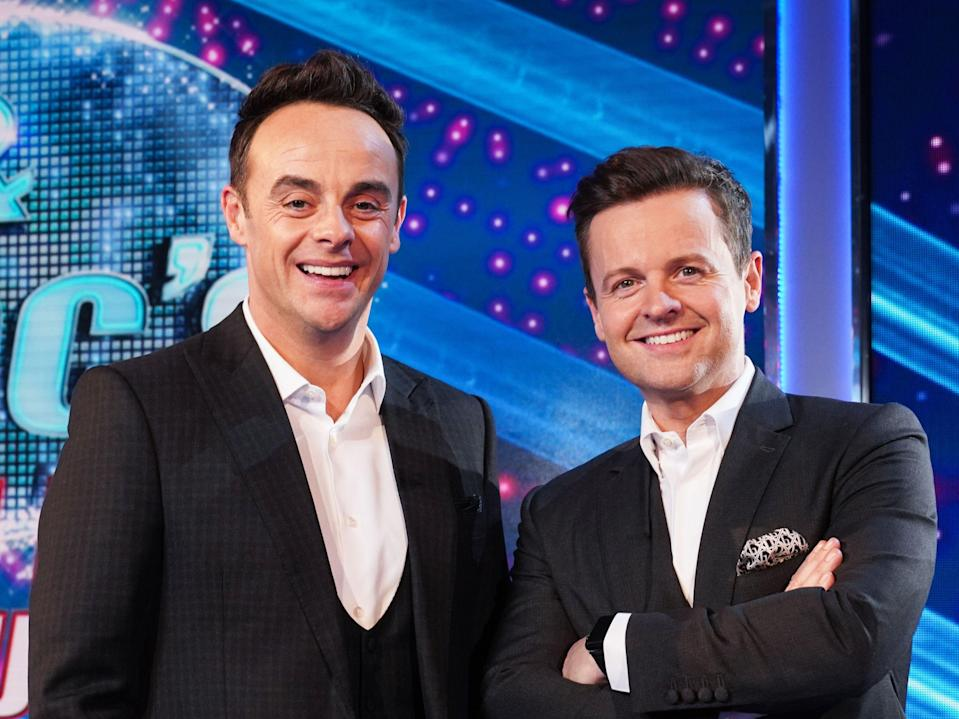 Ant and Dec (ITV)