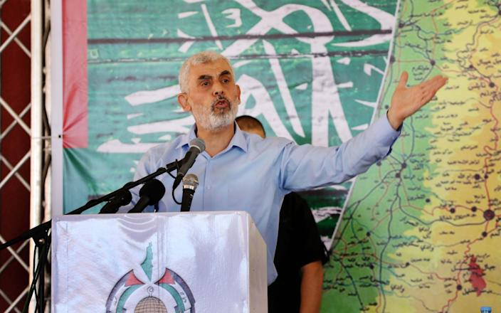 Hamas leader Yahyah Sinwar says the Palestinian militant group is ready for a prisoner exchange with Israel - Anadolu