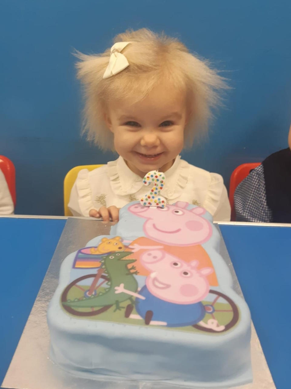 Ruby Chapman on her second birthday (PA REAL LIFE/Collect)