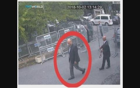 Mr Khashoggi entered the consulate on October 2. His body has still not been found - Credit:  REUTERS