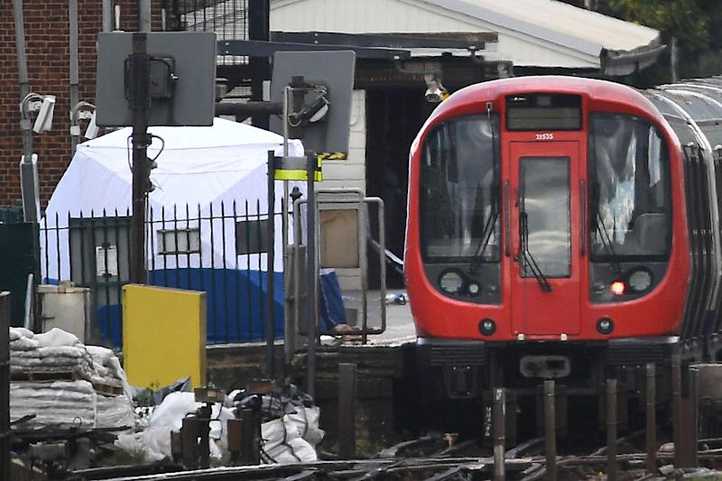 The aftermath of the attempted Tube bombing at Parsons Green