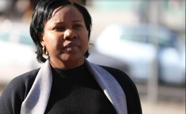 Aissatou Diallo, 44, has pleaded not guilty to three charges of dangerous driving causing death and 35 counts of dangerous driving causing bodily harm in the 2019 OC Transpo bus crash. The trial started Monday.  (Raphael Tremblay/CBC - image credit)