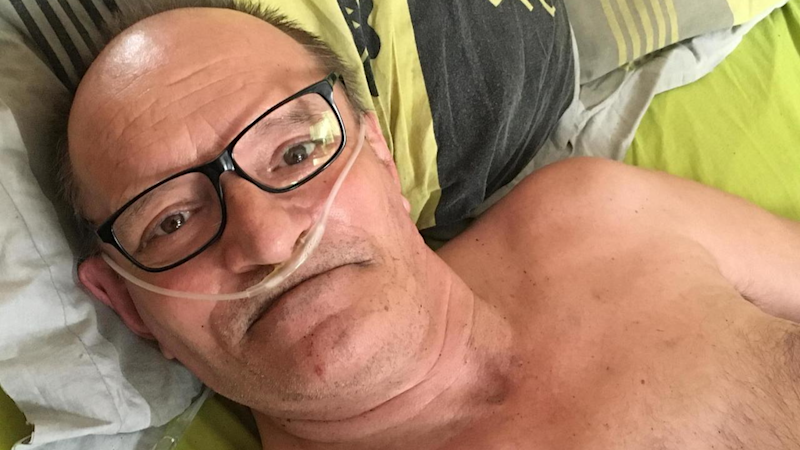 Terminally ill Frenchman hospitalised, calls off right-to-die strike